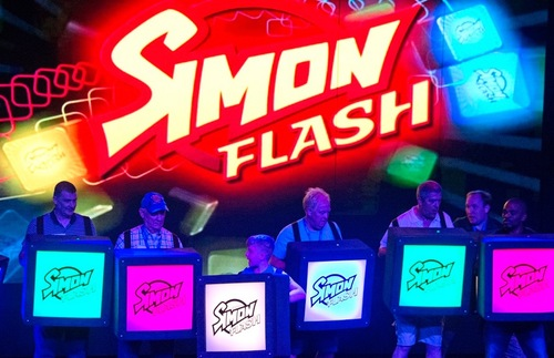 Simon Flash game show on Carnival Horizon