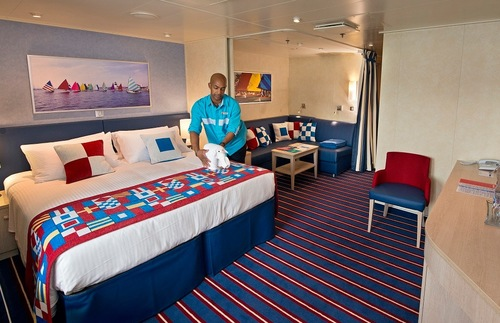 Family cabin on Carnival Vista