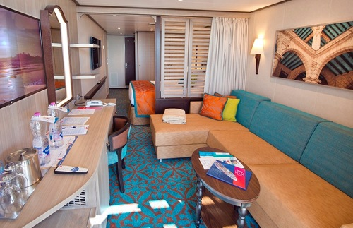 Havana cabin on Carnival Vista
