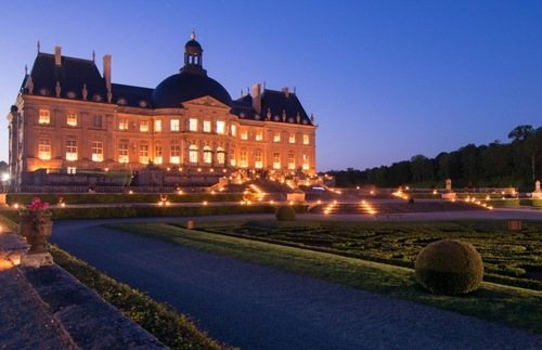 Château de Vaux-le-Vicomte in Maincy, France