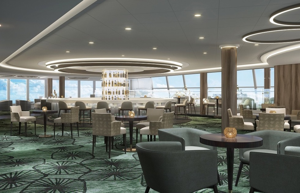Norwegian Bliss: Observation Lounge
