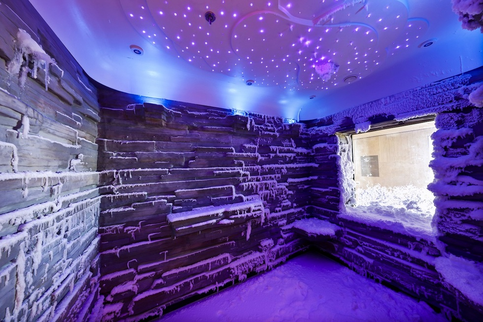 Norwegian Bliss: Spa Snow Room