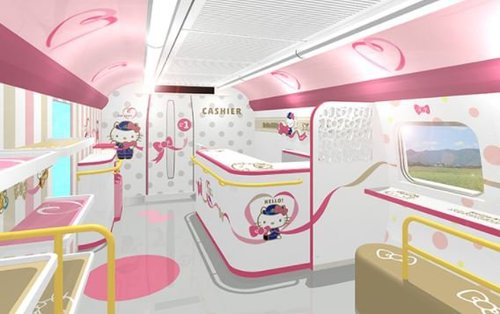 Hello Kitty Bullet Train to Make Japan Even More Adorable | Frommer's