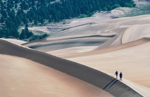 Great Sand Dunes National Park and Preserve in Colorado