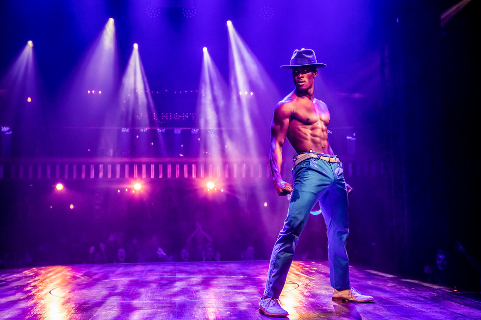 Sexy dance moves and six-pack abs light up the stage at Magic Mike Live in Las Vegas