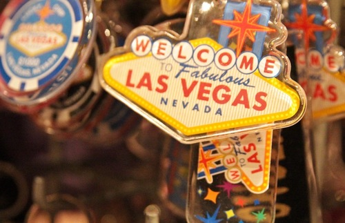 Las Vegas key chain