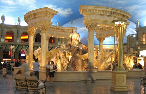 The Forum Shops at Caesars in Las Vegas
