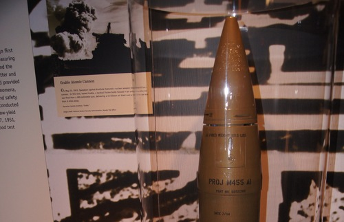 Exhibit at the National Atomic Testing Museum in Las Vegas