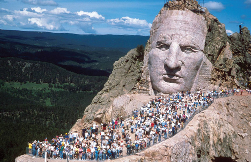Avoid the expensive and underwhelming Crazy Horse Memorial in favor of a trip to the South Dakota Art Museum in Brookings.