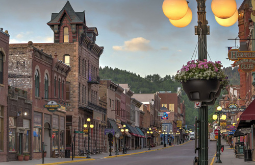 Skip the gambling and mediocre shows at Deadwood, the historic frontier town near Rapid City.