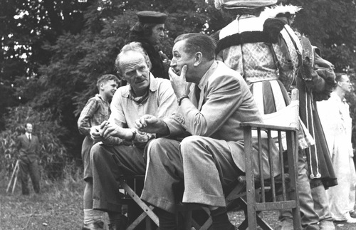 Walt Disney at Beaconsfield, England, 1952