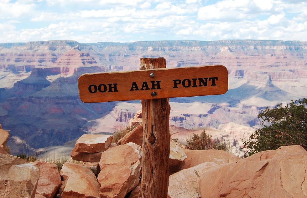 Ooh Aah Point at the Grand Canyon in Arizona