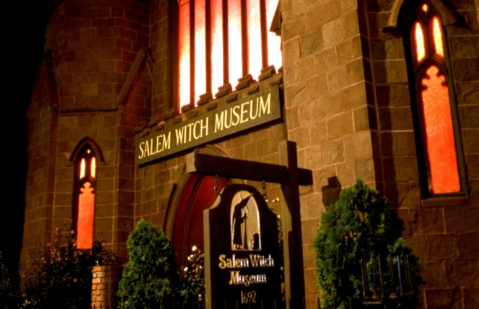 Salem Witch Museum in Massachusetts