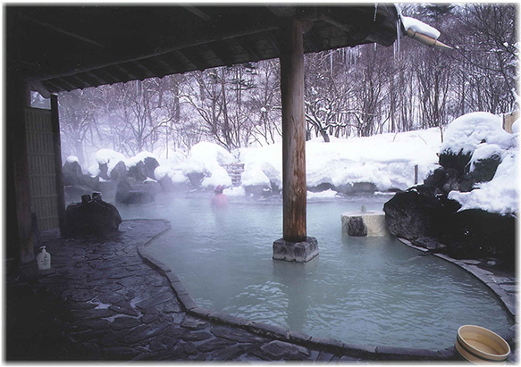 Hanamaki and Hachimantai hot springs, Iwate, Japan