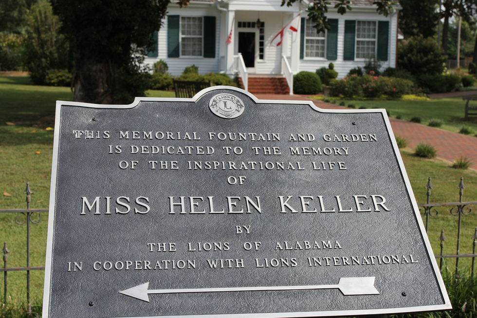 Tuscumbia, Alabama: Helen Keller's birthplace