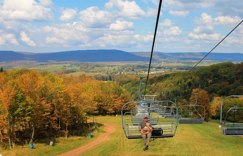 Fall foliage ideas: Canaan Valley Resort and Conference Center, Davis, West Virginia