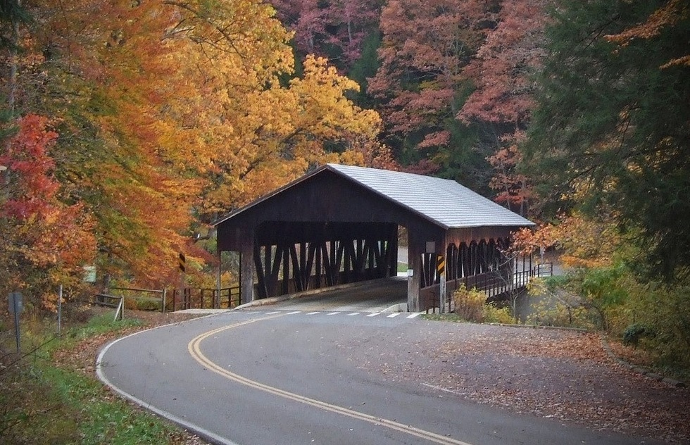 Fall foliage ideas: Mohican State Park, Perrysville, Ohio