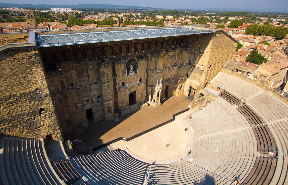 Great outdoor music venues worldwide: Theatre Antique D'Orange in Provence