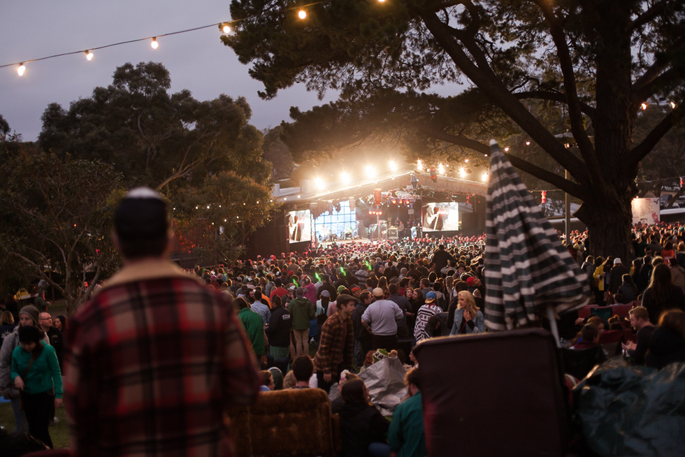 Great outdoor music venues worldwide: Meredith Supernatural Amphitheatre, Australia