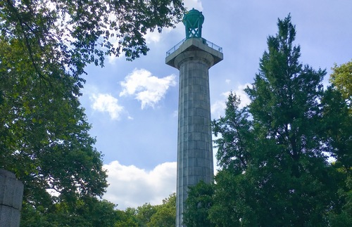 Prison Ship Martyrs Monument at Fort Greene Park in Brooklyn