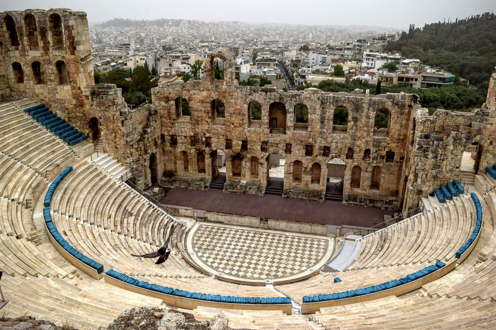 Great outdoor music venues worldwide: The Odeum of Herodes Atticus, Athens, Greece