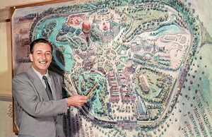 Looking inside Walt Disney's Disneyland by Taschen