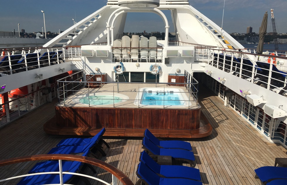 Windstar Cruises: Star Pride Pool Deck