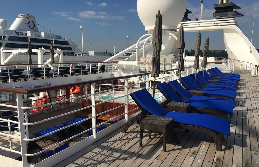 Windstar Cruises: Star Pride Sun Deck