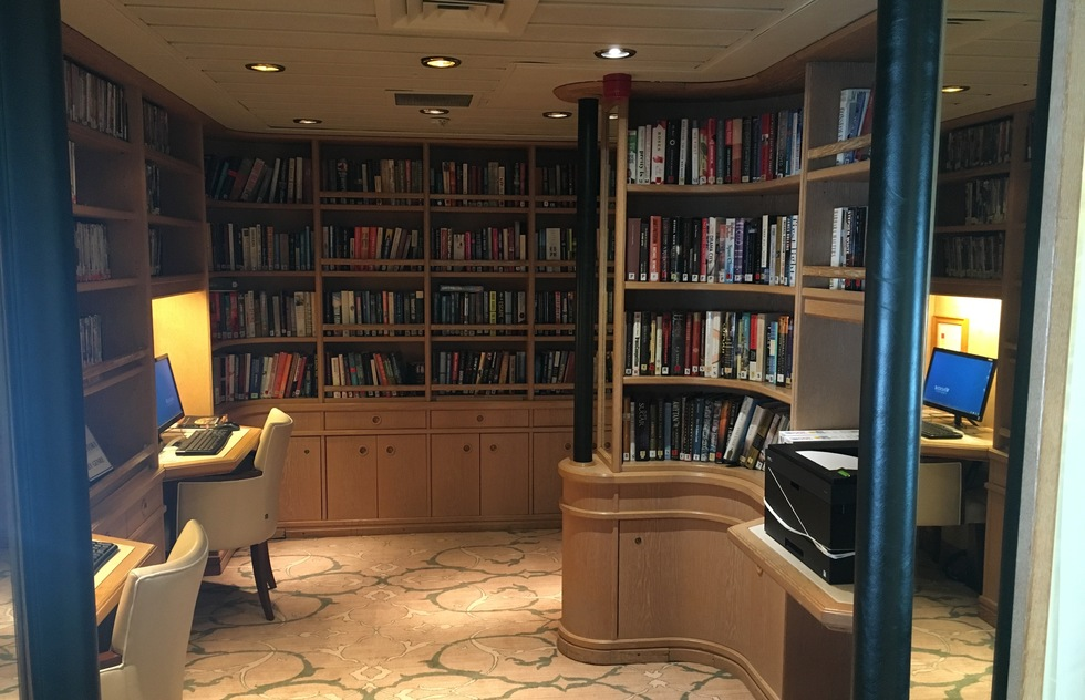Windstar Cruises:  Star Pride Library