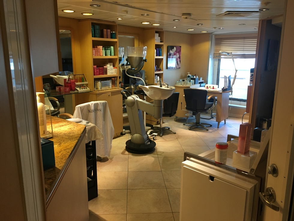 Windstar Cruises: Star Pride Salon, Spa and Gym