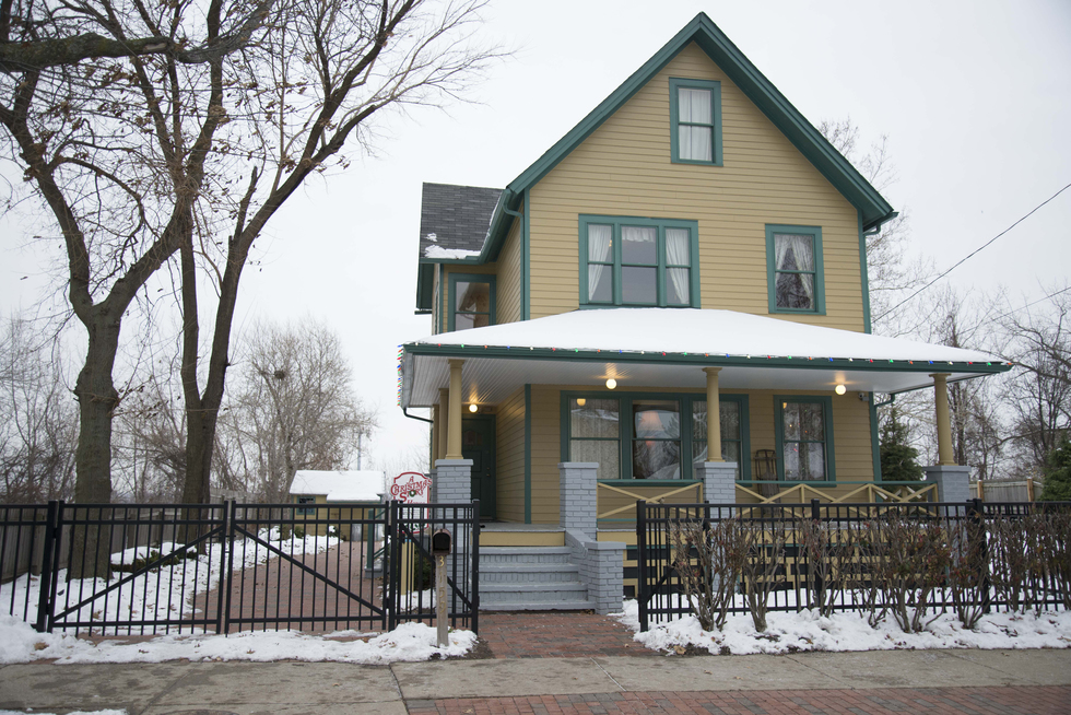 You Can Stay In Ralphie S House From A Christmas Story