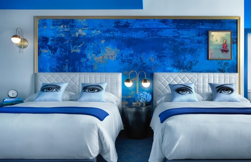 Colorful New St. Louis Hotel Wants to Give You the Blues (or Reds or Yellows) | Frommer's