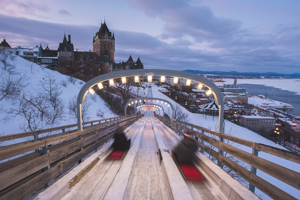 Cheap vacation ideas in U.S. cities for families: Québec City, Canada