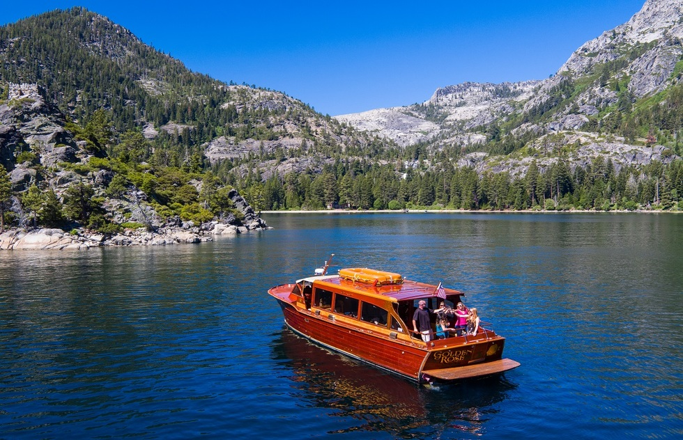 Wine Tasting Tour Experiences: boating in Lake Tahoe, California