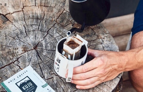 Great Travel Gift Ideas: Kuju Coffee's Pocket PourOver