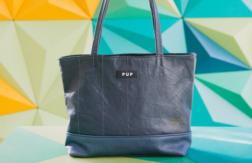 Great Travel Gift Ideas: PUP Acela Express Seat Leather Bags