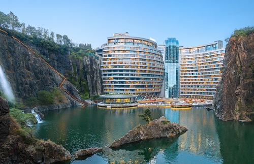 Underground Luxury Hotel Opens in a Quarry | Frommer's