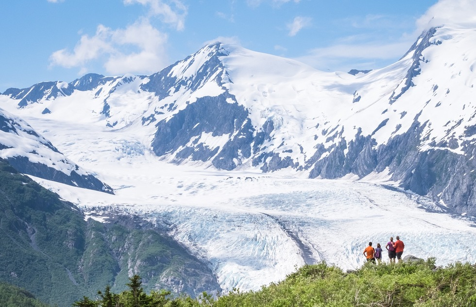 Which Alaska Glaciers Can You See Without a Cruise: Portage Glacier