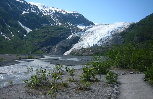 Which Alaska Glaciers Can You See Without a Cruise: Exit Glacier