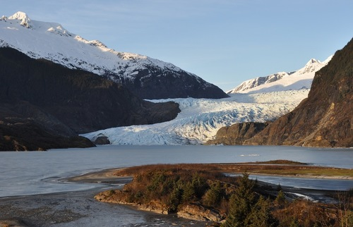 Which Alaska Glaciers Can You See Without a Cruise: Mendenhall Glacier
