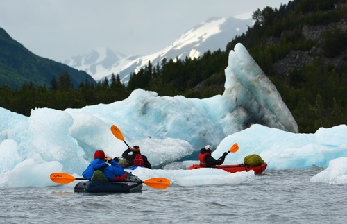 Which Alaska Glaciers Can You See Without a Cruise: Spencer Glacier