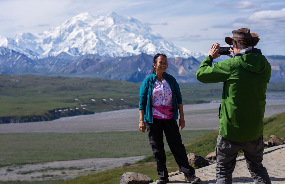 Alaska national park itinerary by car: Denali National Park: Along the Route