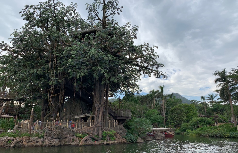 Hong Kong Disneyland's Jungle Cruise
