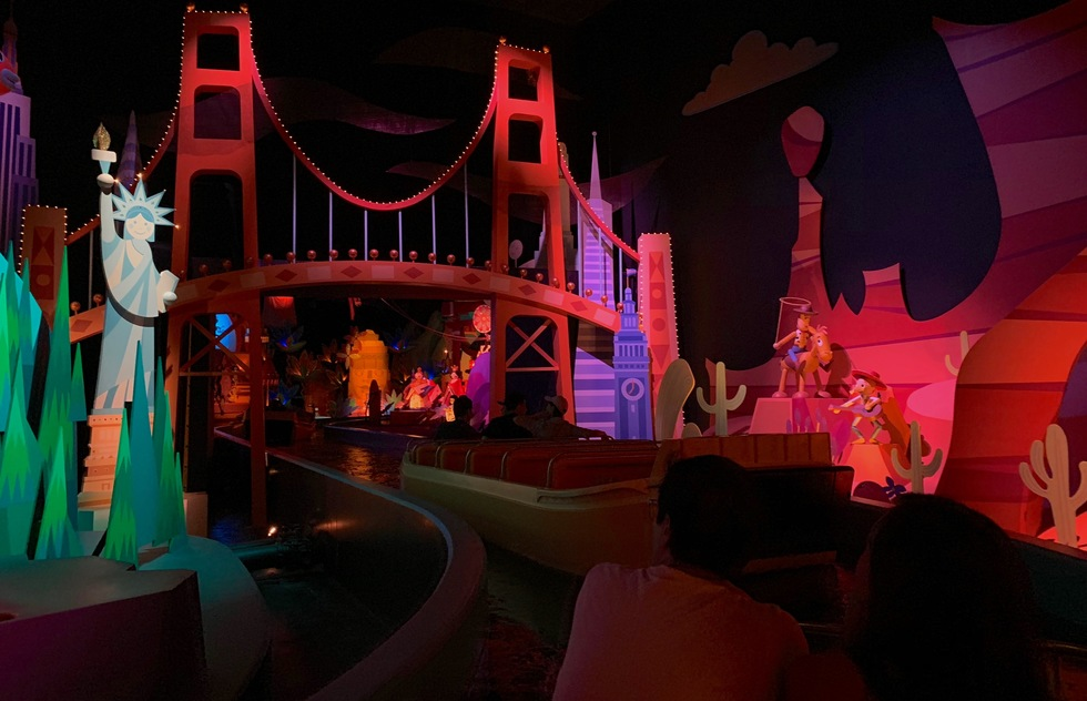 Hong Kong Disneyland's It's a Small World