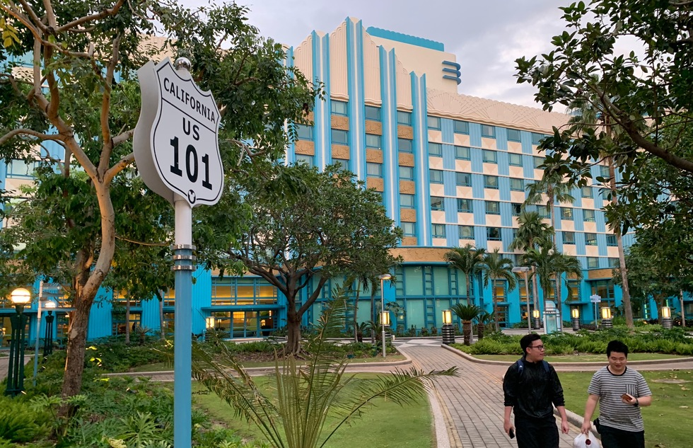 Hong Kong Disneyland: Disney's Hollywood Hotel