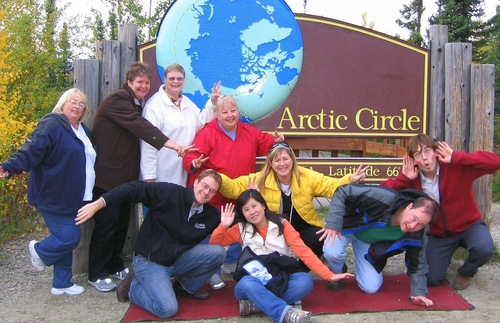 What to do in Alaska in summer: Visit the Arctic Circle