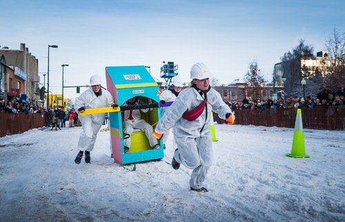 The Outhouse Races in Anchorage