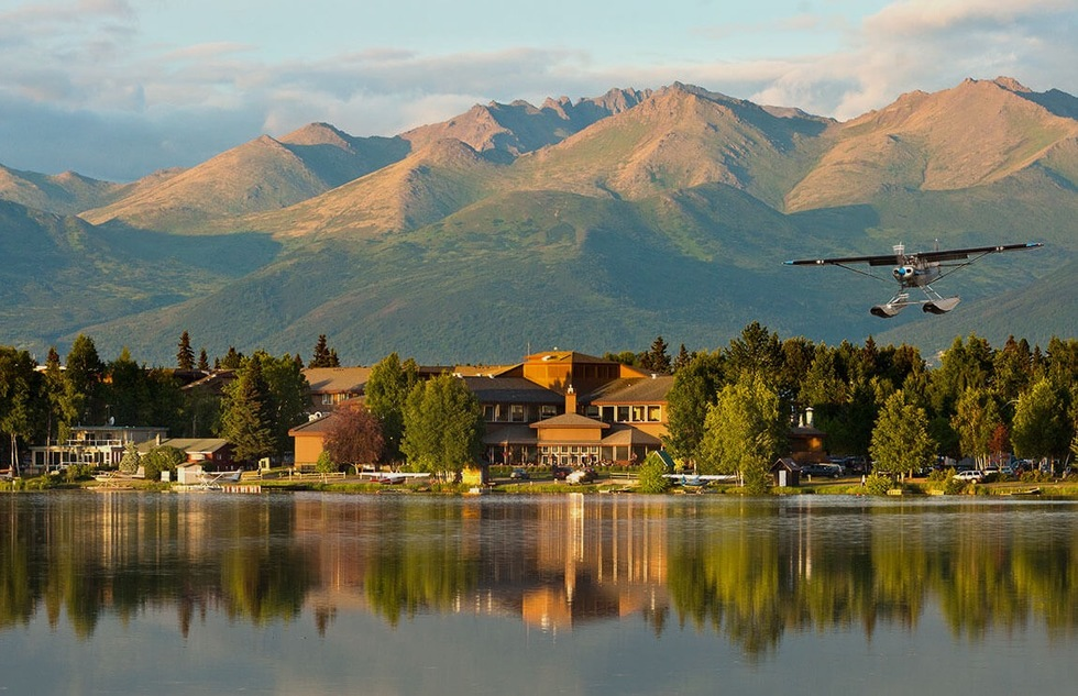 Anchorage is Alaska's most populous city and its airhub. Stay at the Hotel Captain Cook and explore the cultural relics and adventures into the wild that the town has to offer.