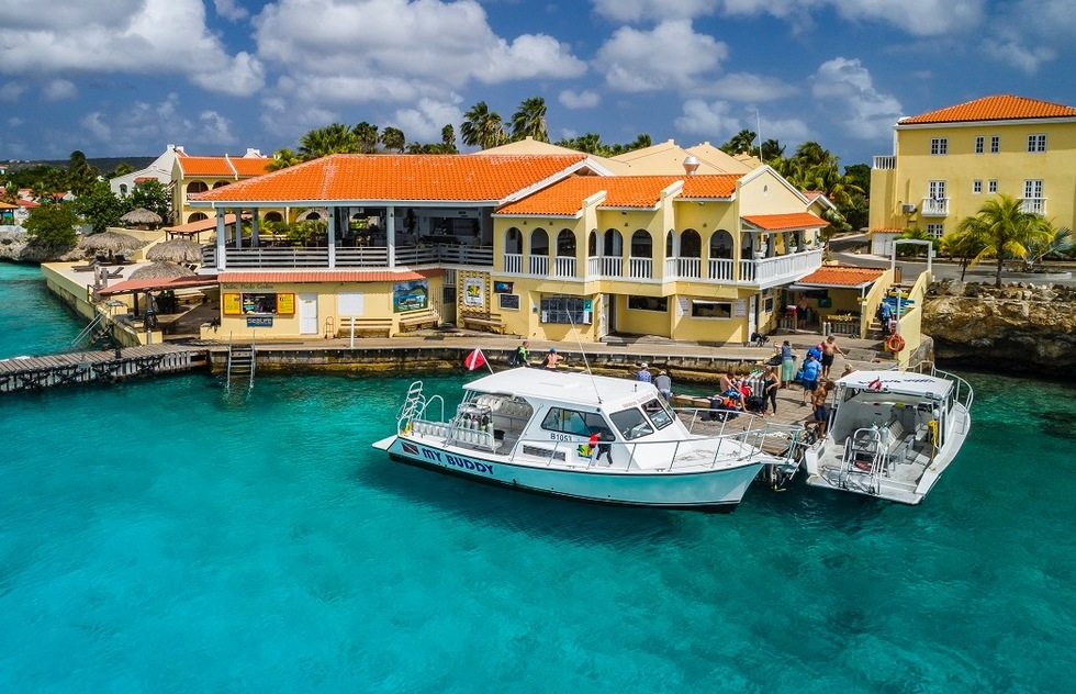 Best resorts for families in the Caribbean and the Bahamas: Buddy Dive Resort, Bonaire