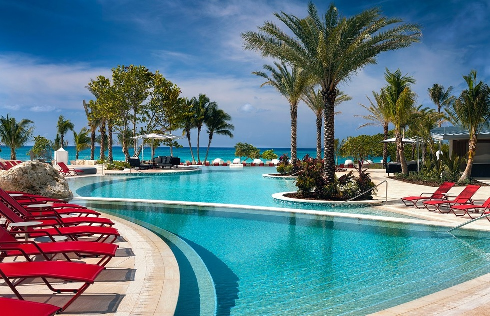 Best resorts for families in the Caribbean and the Bahamas: Kimpton Seafire Resort & Spa, Grand Cayman